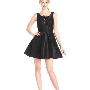 Women's Ashton Sleeveless Lace Inset Dress W/Bow